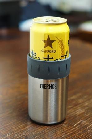 サーモス 缶クーラー500