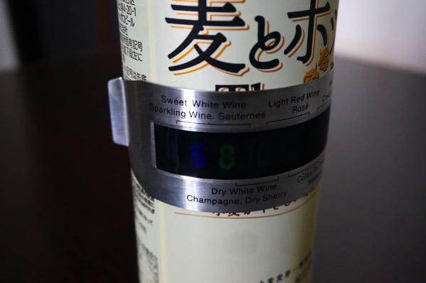 ワイン温度計5