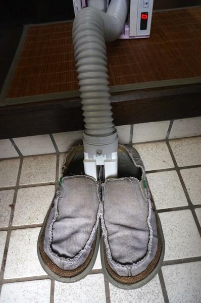 ふとん乾燥機靴乾燥06
