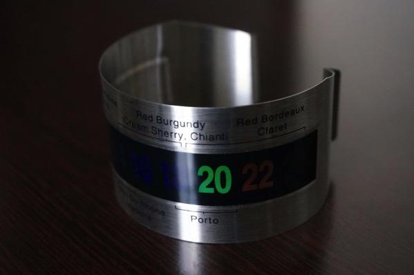 ワイン温度計3