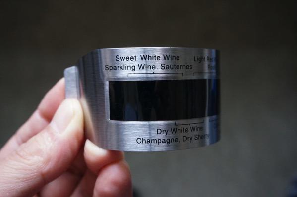 ワイン温度計2