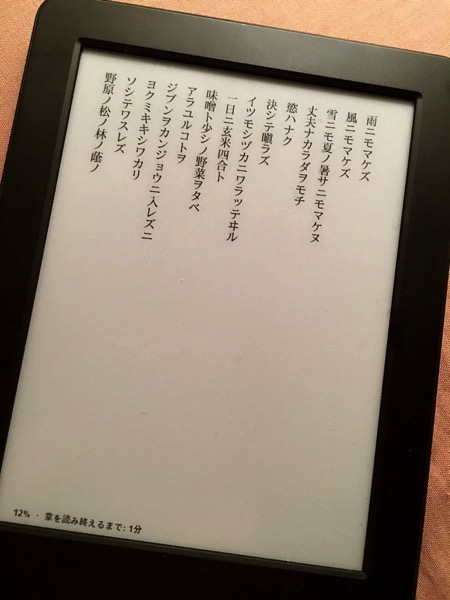 無印Kindle明かり2