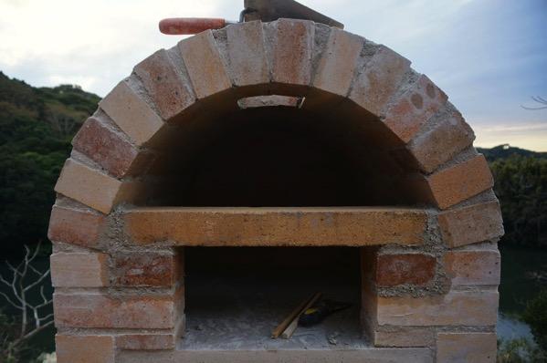 ピザ窯アーチ34