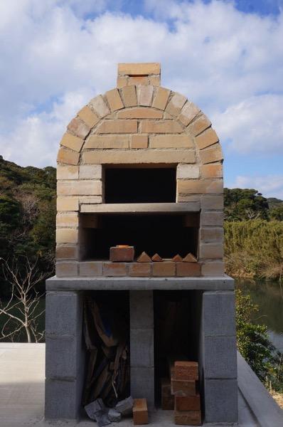 ピザ窯アーチ43