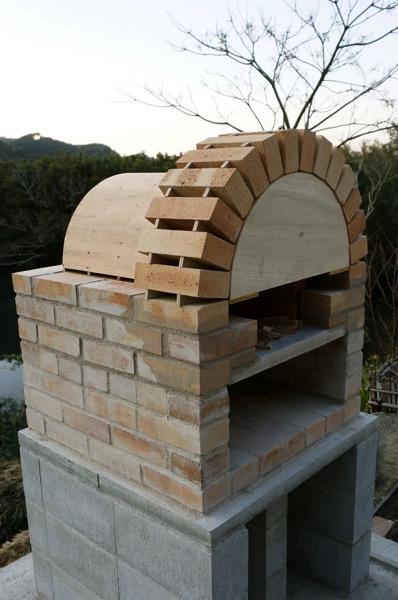 ピザ窯アーチ08