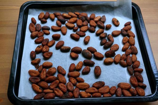 カカオ豆チョコ作り方15