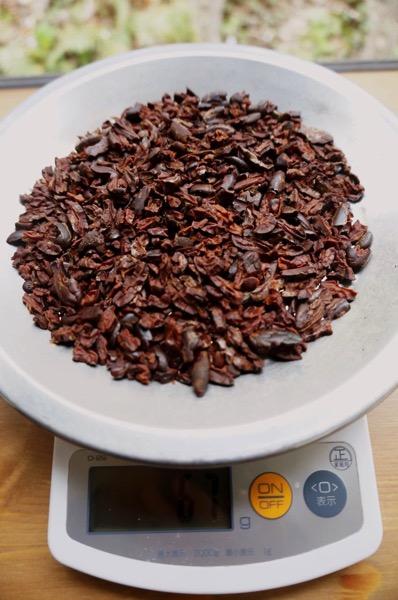 カカオ豆チョコ作り方45
