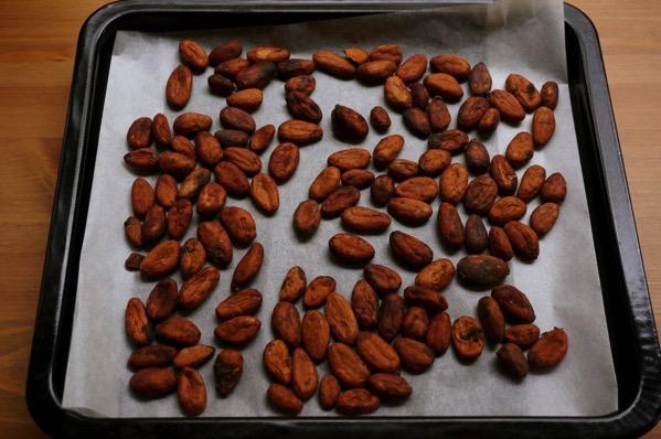 カカオ豆チョコ作り方07