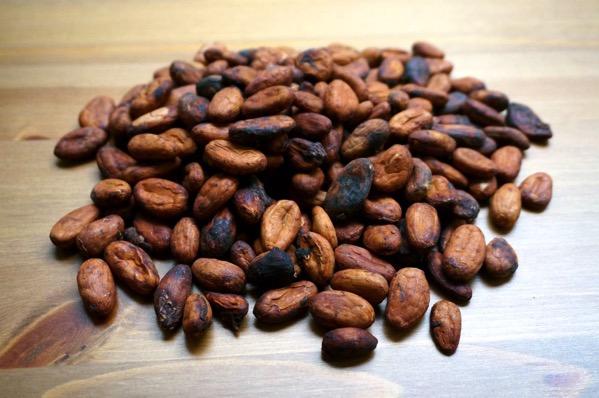 カカオ豆チョコ作り方01