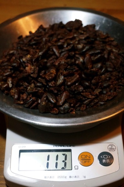 カカオ豆チョコ作り方21