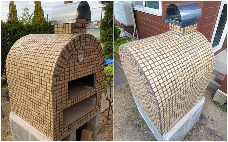 原さんのピザ窯の作り方1