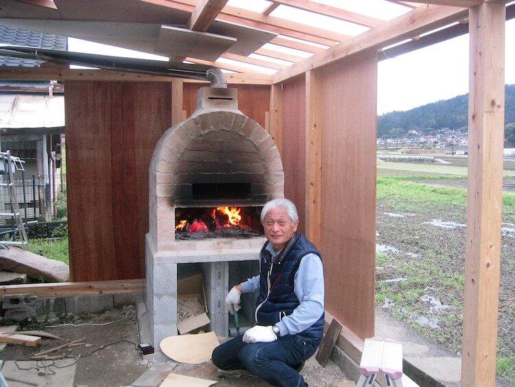 まっちゃんさんのピザ窯