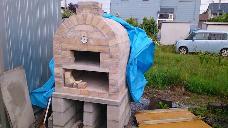 くまさんのピザ窯