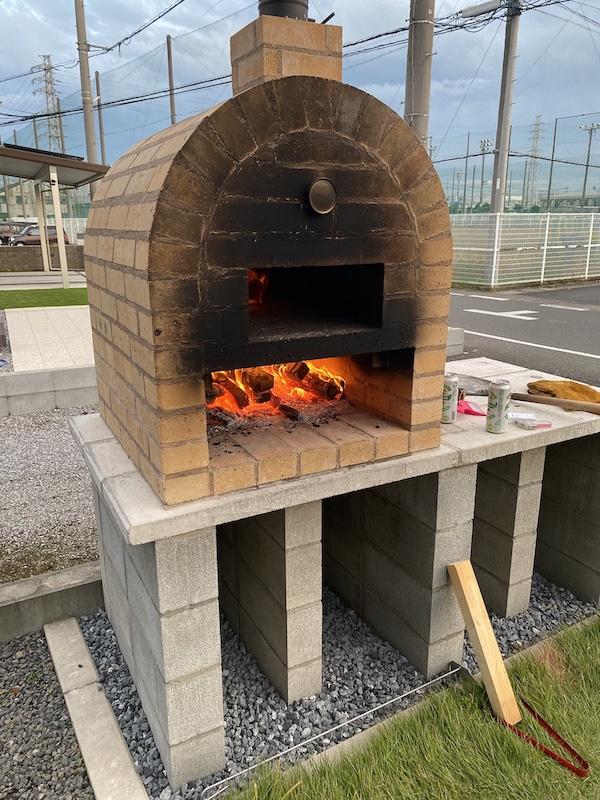 Passioneさんのピザ窯