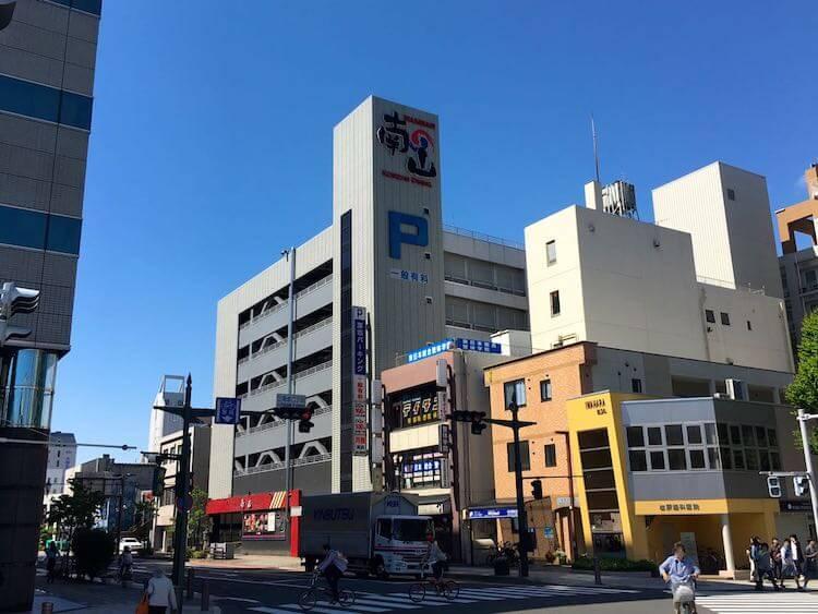 クラフトフェア松本駐車場11