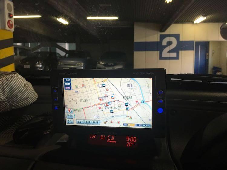 クラフトフェア松本駐車場とか01
