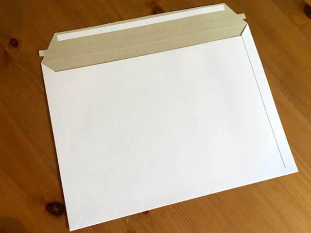 クリックポスト用の厚紙封筒