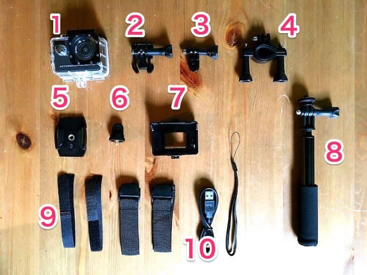 ドンキのウェアラブルカメラ58