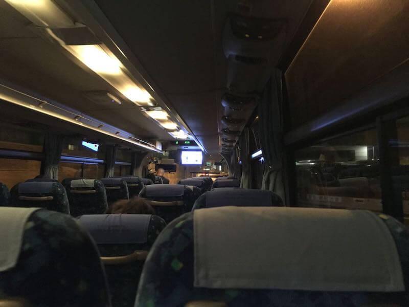 東京駅から五井駅の深夜バス14