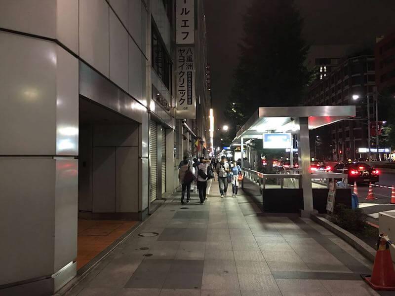 東京駅から五井駅の深夜バス08