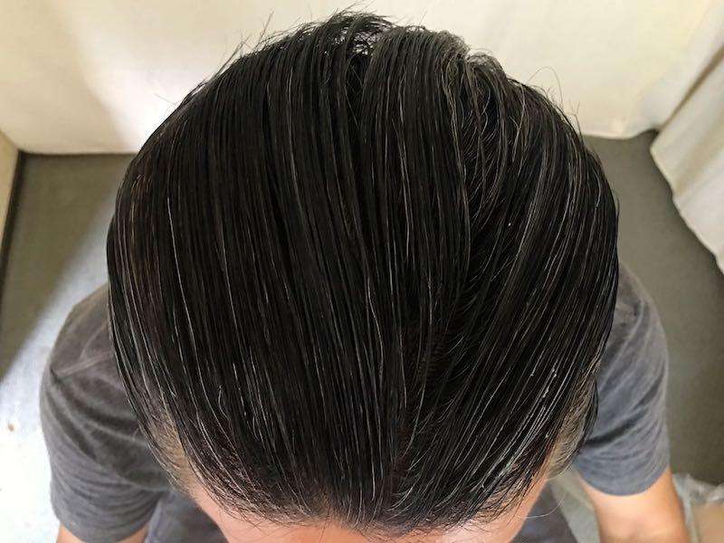 40代男の白髪染め9