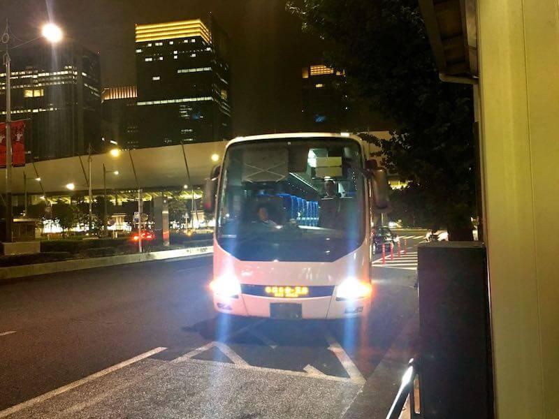 東京駅から五井駅の深夜バス11