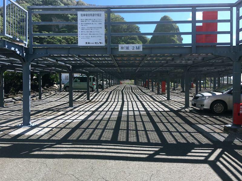 太海磯釣りセンター駐車場1