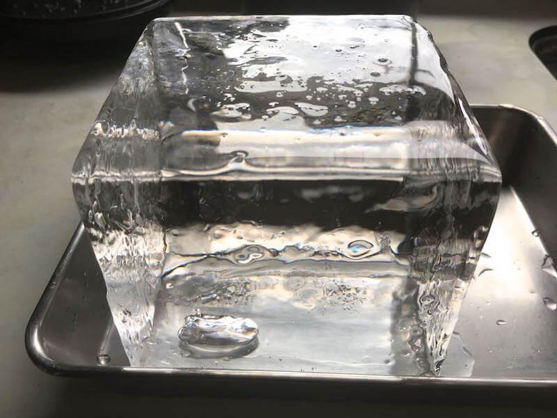 氷屋の純氷