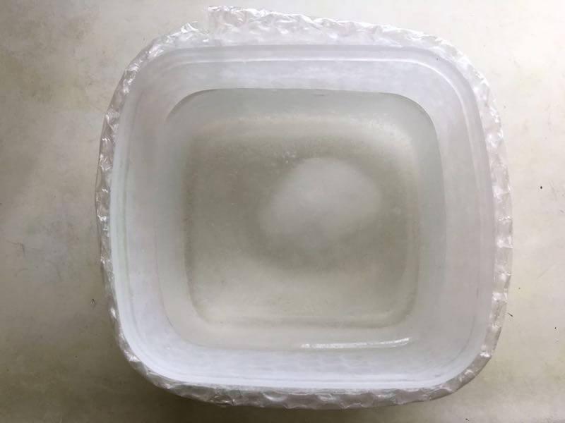 家庭で作る純氷