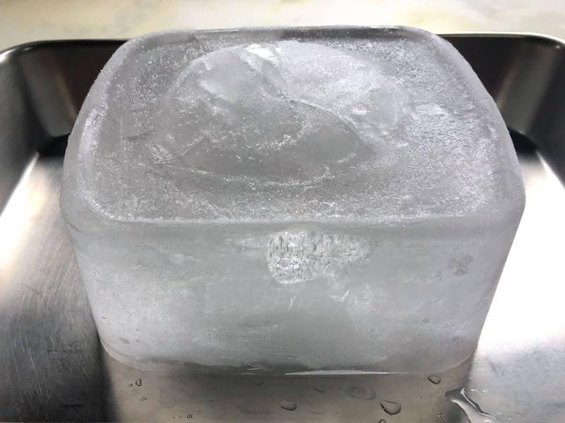 かき氷の氷水道水そのまま