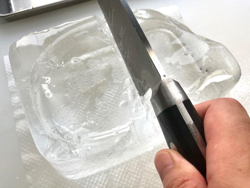 透明な氷の作り方25