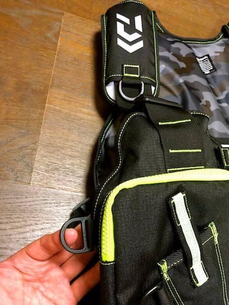 釣り用ライフジャケットDaiwa ライトフロートゲームベスト7