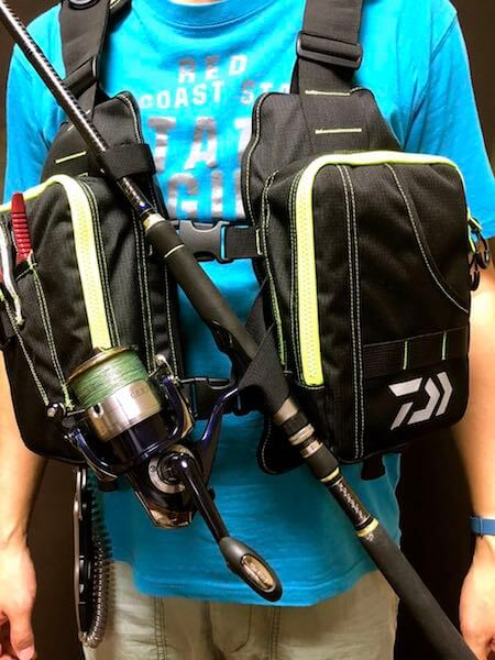釣り用ライフジャケットDaiwa ライトフロートゲームベスト22