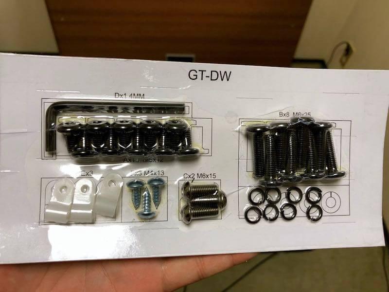タンスのゲンのガス圧式スタンディングデスクの組み立て5