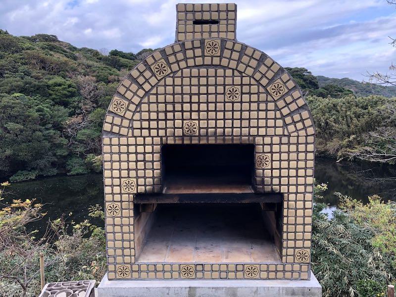 ピザ窯でのピザの焼き方27