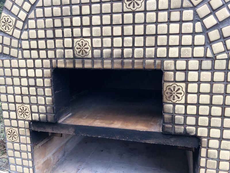 ピザ窯でのピザの焼き方28