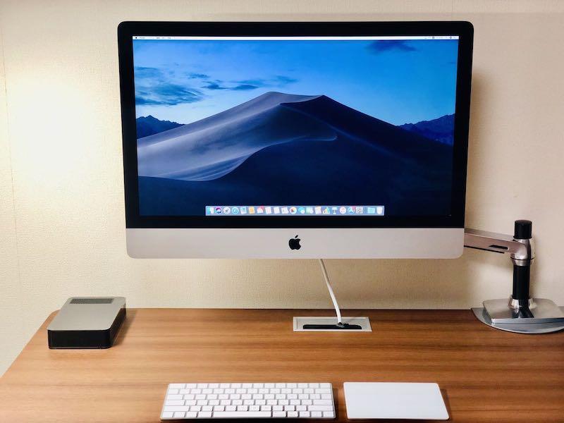 iMac27ディスプレイVESAマウント3