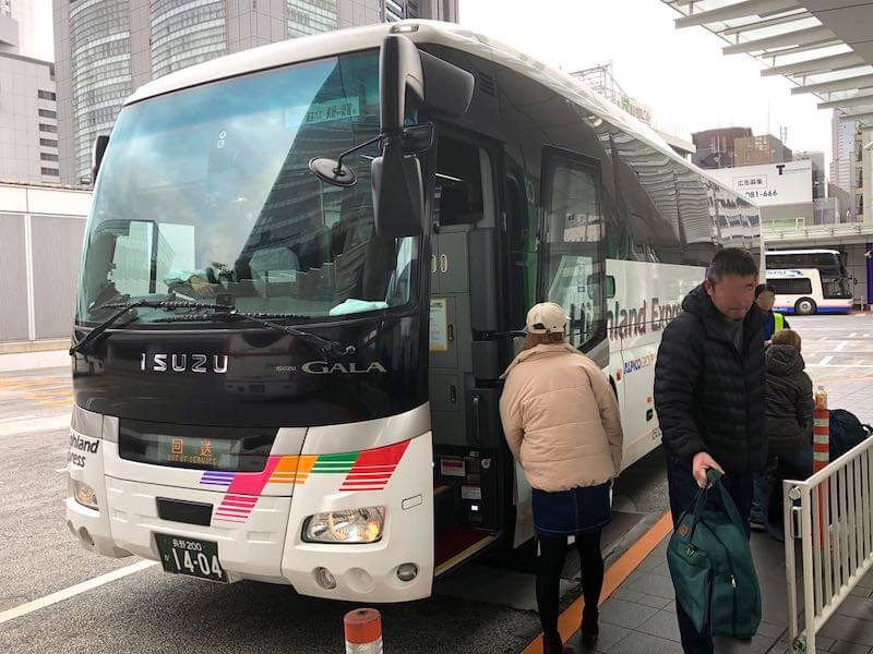 五井長野高速バス54