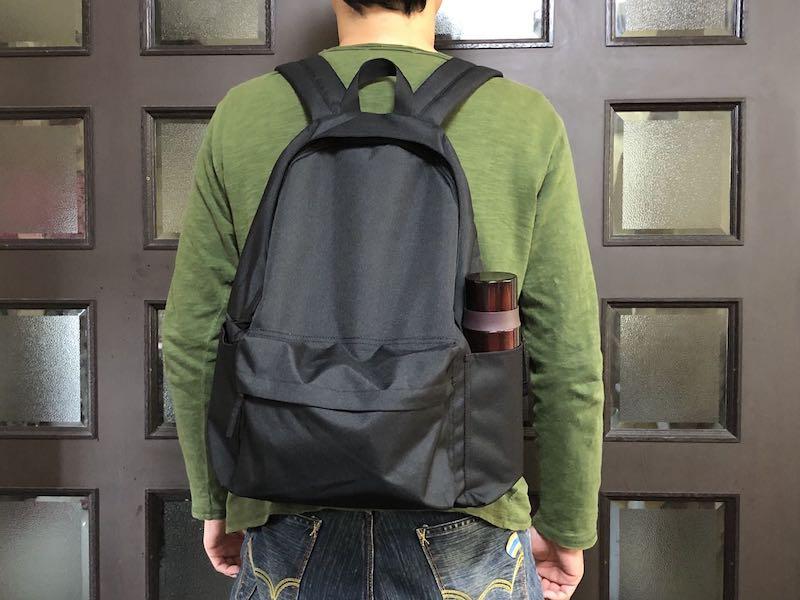 無印良品肩の負担を軽減するPCポケット付きリュックサック13