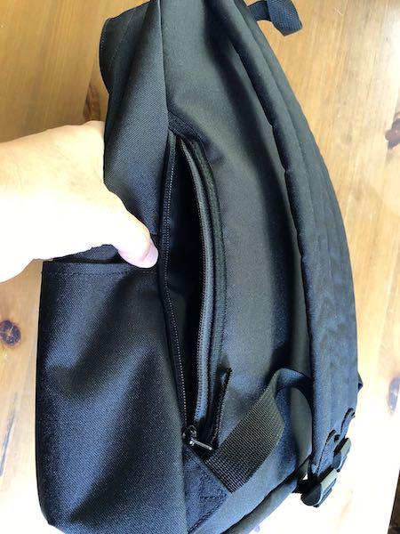 無印良品肩の負担を軽減するPCポケット付きリュックサック15