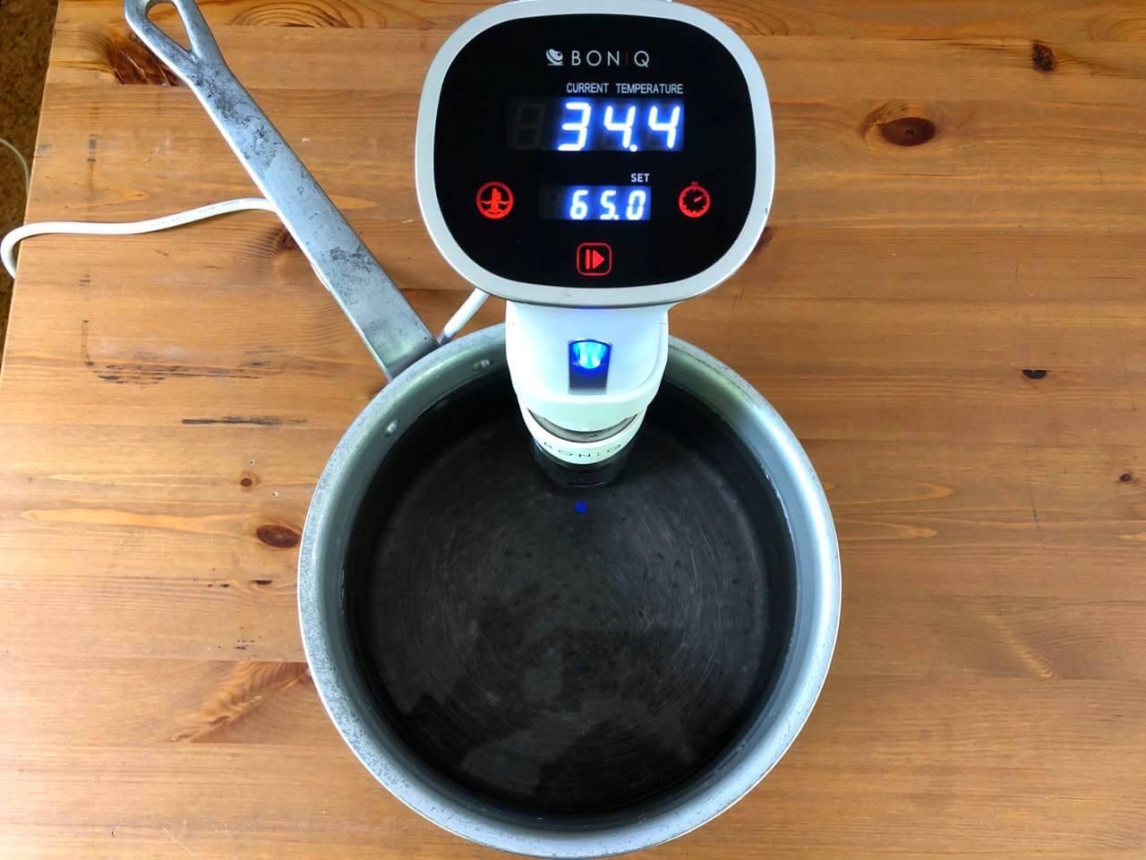 低温調理器BONIQボニークの使い方13