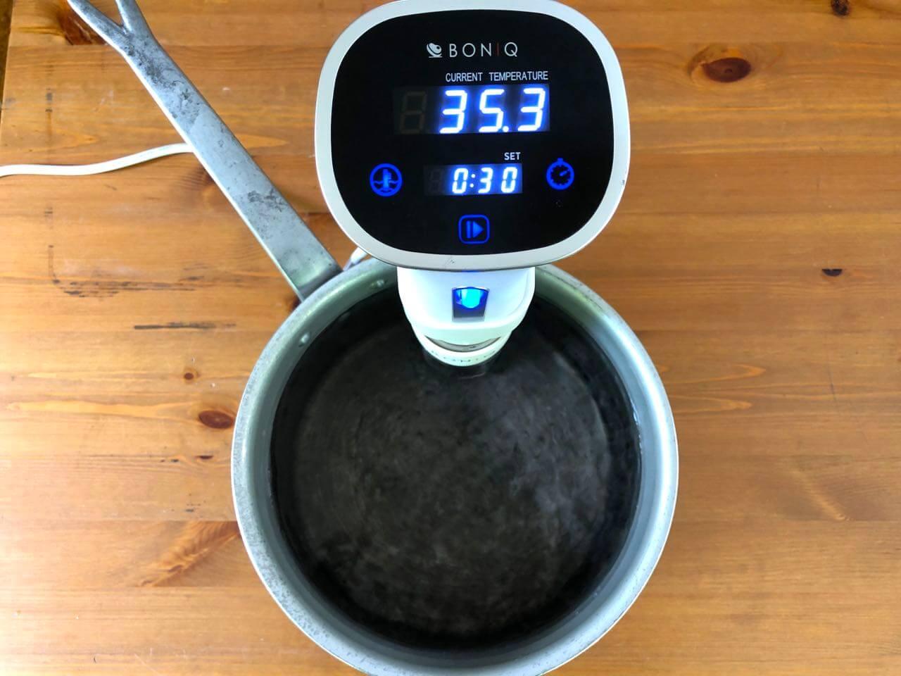 低温調理器BONIQボニークの使い方18