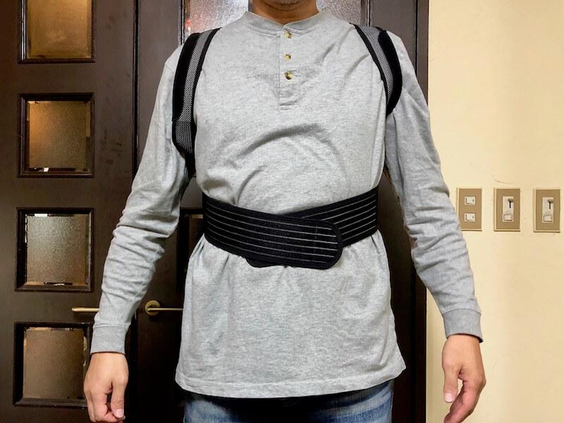 マジコ姿勢サポーターの着用の仕方3