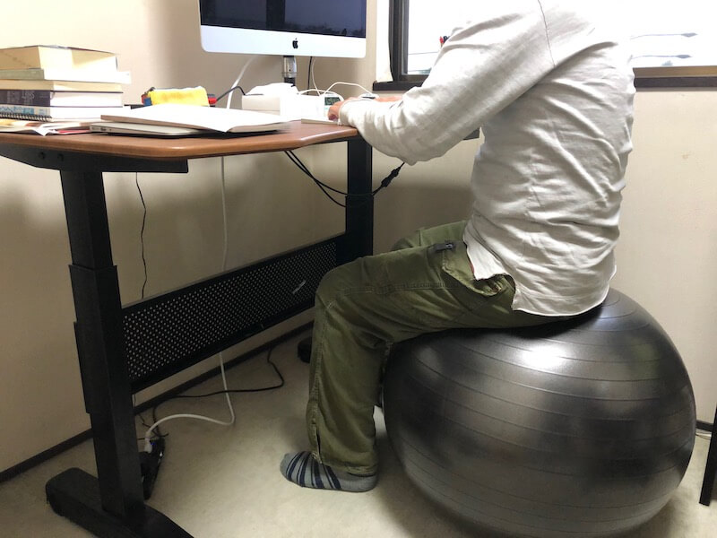 バランスボールの腰痛への効果は?4