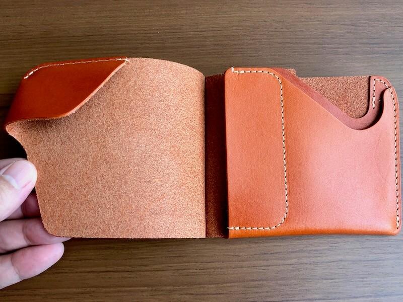 薄くて大容量の二つ折り財布HUKUROのJITAN9
