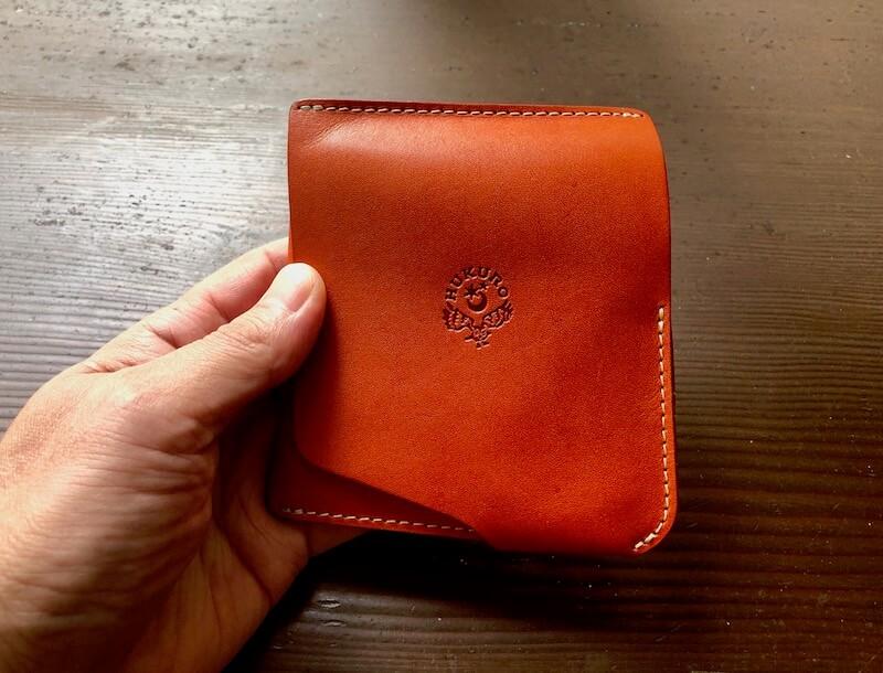 薄くて大容量の二つ折り財布HUKUROのJITAN15