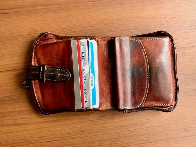 薄くて大容量の二つ折り財布HUKUROのJITAN34