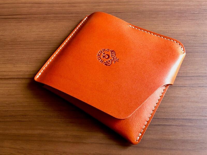 薄くて大容量の二つ折り財布HUKUROのJITAN32