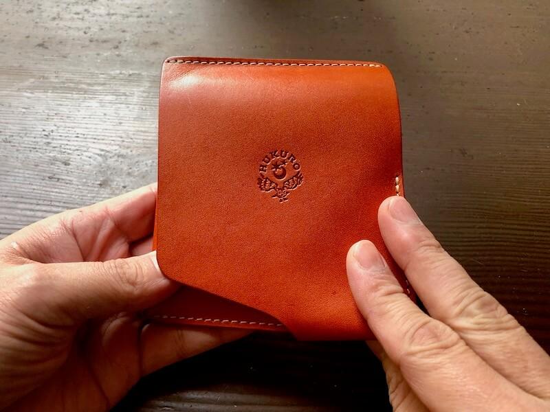 薄くて大容量の二つ折り財布HUKUROのJITAN16