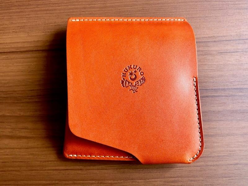 薄くて大容量の二つ折り財布HUKUROのJITAN30